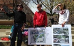 Jeff Shoemaker, The Greenway Foundation; Dave Bennetts, Urban Drainage and Flood Control District; Brooke Seymour, McLaughlin Whitewater Design Group
