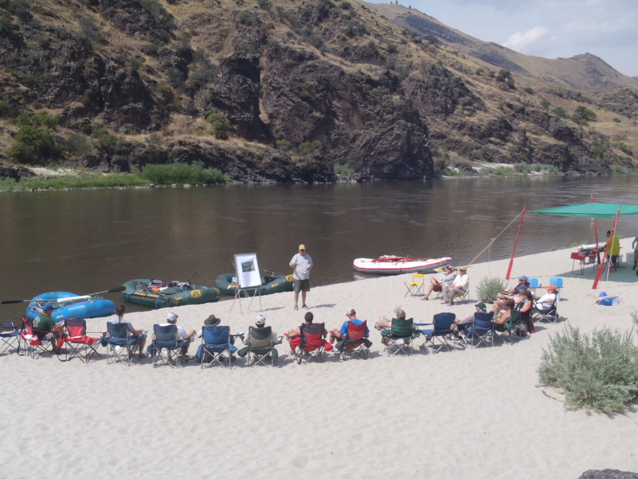 Workshop on the Salmon River