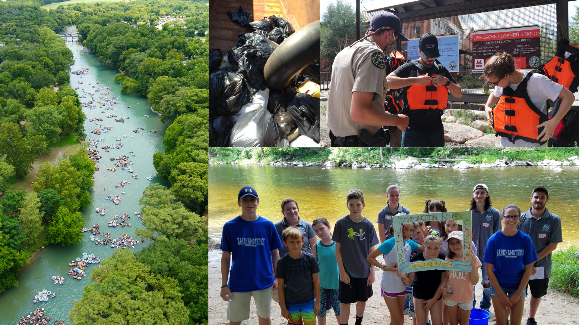 Photos by WORD of Comal County, FERC River Stewards, Arkansas Headwaters Recreation Area